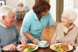 Dieta para aumentar de peso en ancianos